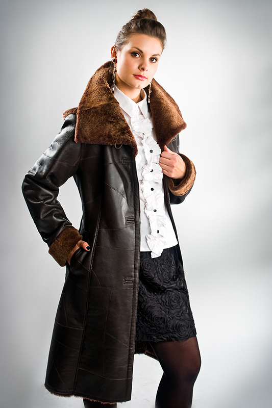 Producer of natural sheepskin coats Production of pelts leather clothes Poland